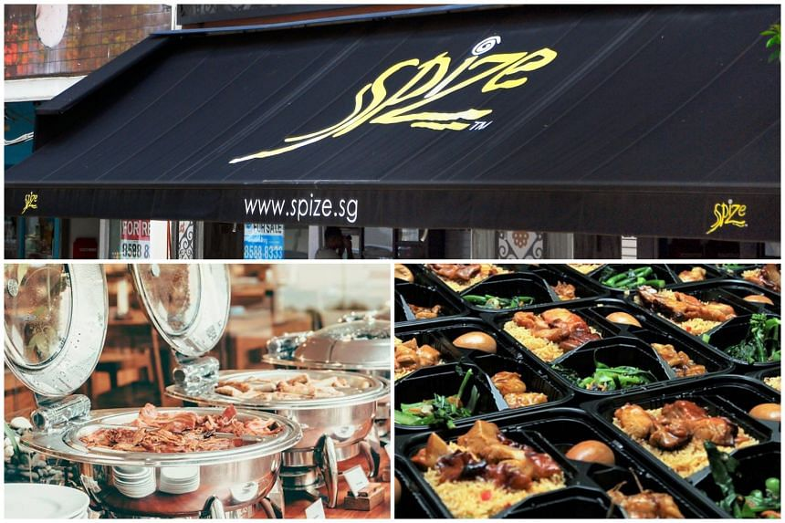 More than 400 people suffered food poisoning in three separate incidents of eating catered food from: Spize restaurant, FoodTalks Caterer & Manufacturer, and TungLok Catering.