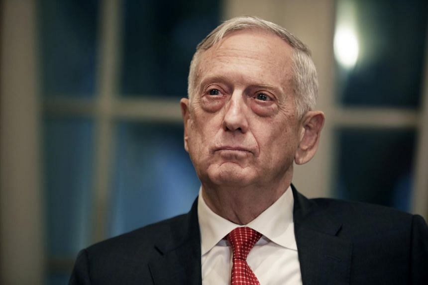 """US Defence Secretary Jim Mattis has released a letter he wrote to President Donald Trump acknowledging that the president had a right to a defence secretary with views """"better aligned"""" with his."""