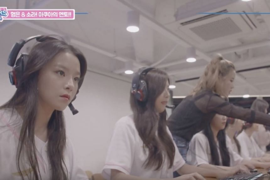 """Billing itself as the very first """"e-sports girl group"""" in South Korea, Aqua hopes to incorporate gaming into the growing music scene."""