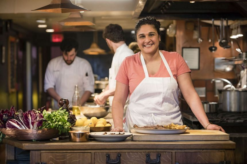 Salt Fat Acid Heat author Samin Nosrat said she has not decided if she will make season two of the show, or strike out in a different direction.