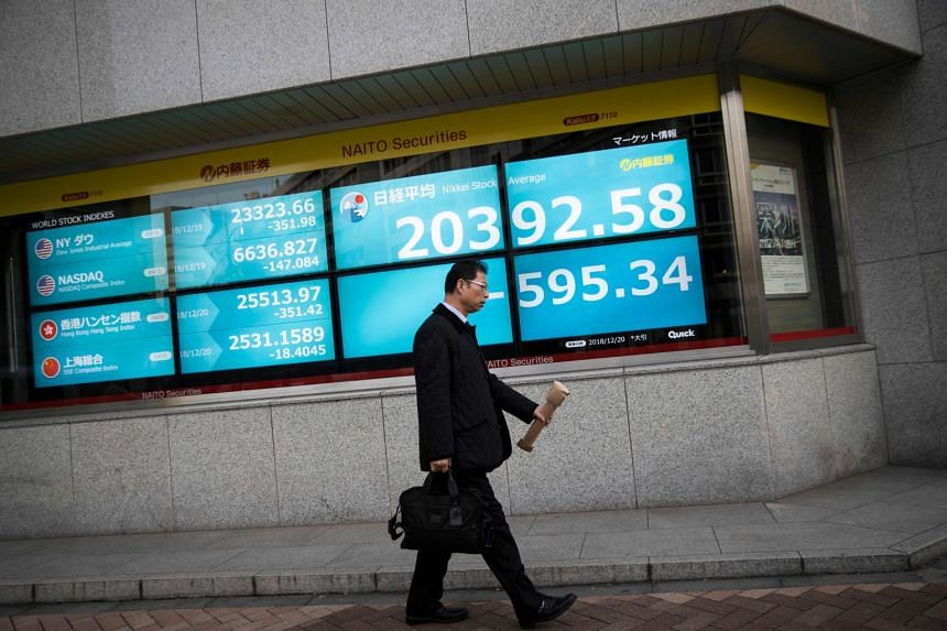 This sent a chill across the markets as stocks in Japan fell 2.84 per cent, while those in Hong Kong and South Korea shed around 1 per cent.