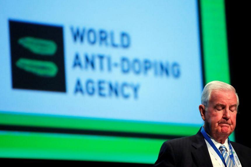 Wada president Craig Reedie attends the WADA Symposium in Switzerland in March 2018.