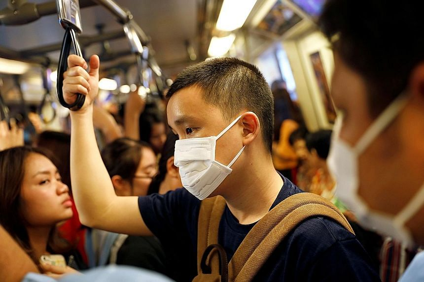 Bangkok was enveloped in a thick pollution haze yesterday, with the outlook set to worsen today, the authorities said. The amount of particulate matter in the air reached hazardous levels throughout the Thai capital yesterday morning, the Bangkok Met