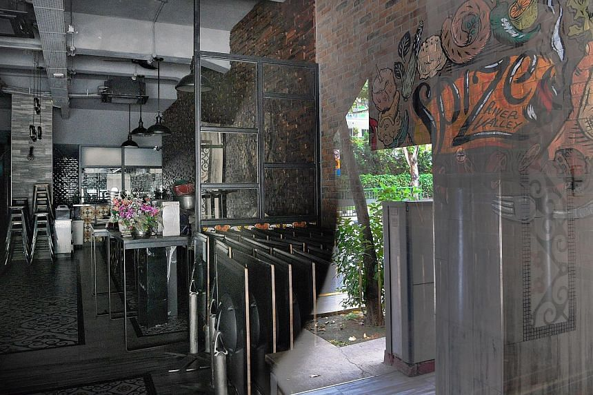 Spize restaurant in River Valley Road, one of the culprits behind the major food poisoning incidents that took place recently. The National Environment Agency and Agri-Food and Veterinary Authority will be increasing the composition fines for such br