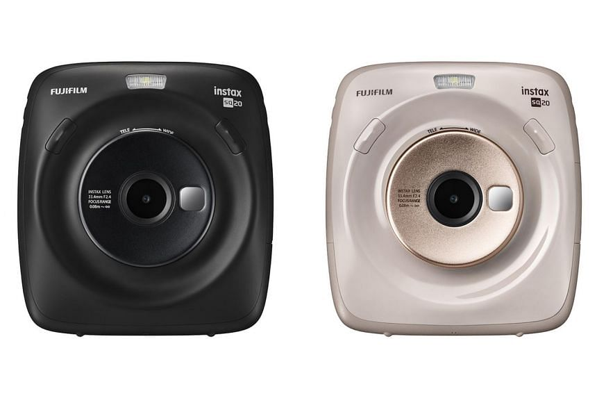 Operation-wise, the Fujifilm instax Square SQ20 is a much faster camera than its predecessor.