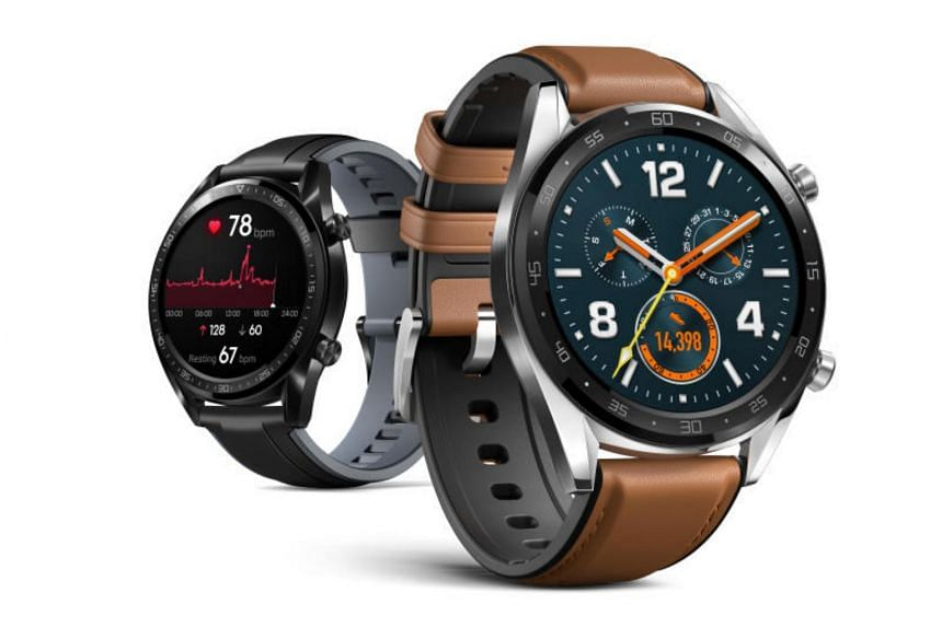 Measuring at only 10.6mm thick, the Watch GT has a round 1.39-inch Amoled touchscreen display with a resolution of 454 x 454 pixels and is available in two models - Classic and Sport.
