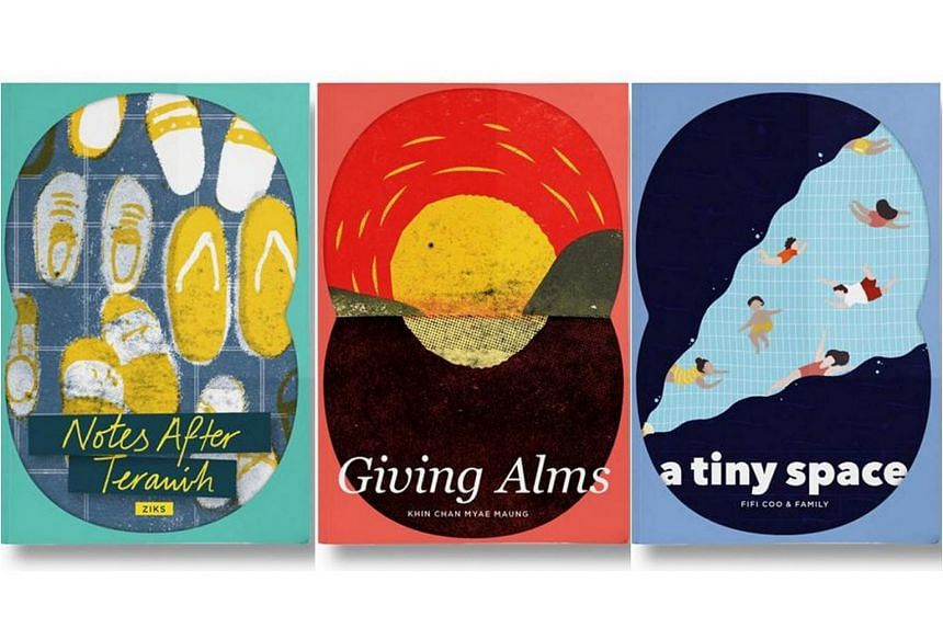 The Orbit series launched this month with three debut books: Notes After Terawih, Giving Alms, and A Tiny Space.