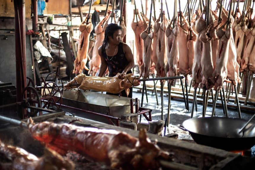 A whole roast pig, which weighs at least 15kg, sells for about $150. That is a small fortune for many in the Philippines, where nearly a quarter of the country lives on less than $2 a day.