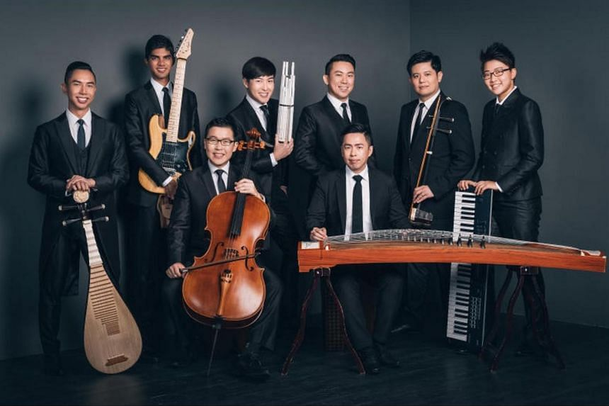The Teng Ensemble is critically acclaimed for its East-meets-West style, with musicians who play instruments ranging from the Chinese erhu and sheng to the Western guitar and electronic keyboard.