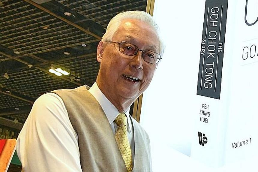 Emeritus Senior Minister Goh Chok Tong says political succession cannot be left to elections.