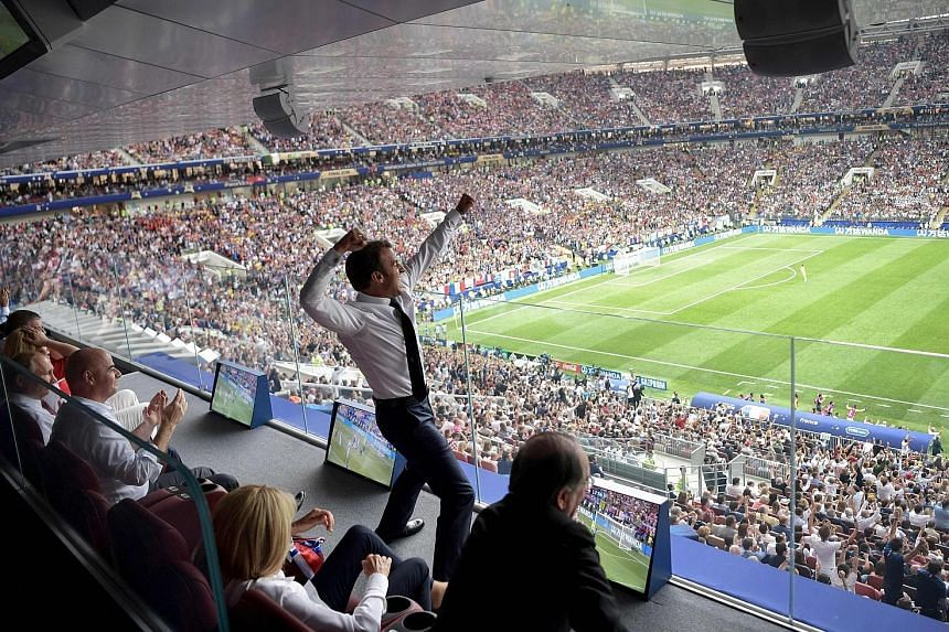 French President Emmanuel Macron was among the 78,011 fans at the Luzhniki Stadium in Moscow, while 1.12 billion viewers worldwide watched the 2018 World Cup final between France and Croatia on July 15. Some 3.572 billion caught some part of the offi