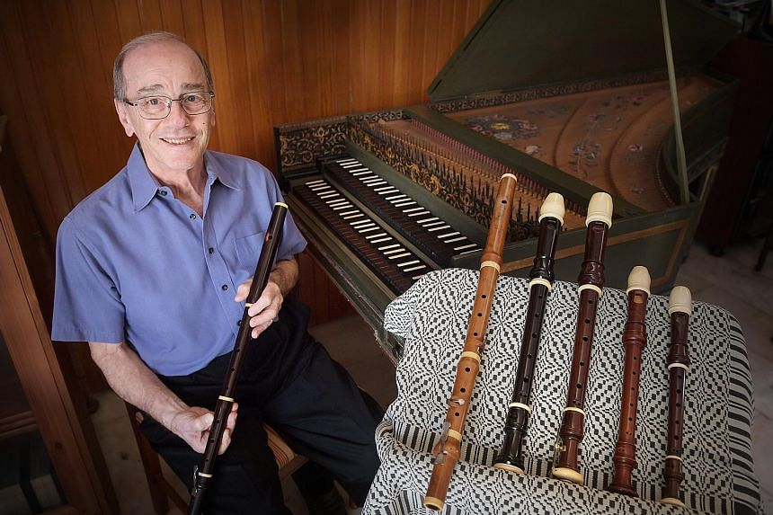 Dr Geoffrey Benjamin has a collection of nearly 50 musical instruments, including a number of antique ones that contain elephant ivory. Among them are a flute dating back to 1790 and a grand piano from 1980 with ivory keys.