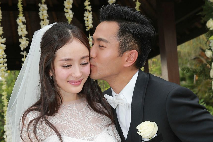 Tv Stars Yang Mi And Hawick Lau End Five Years Of Marriage Asia News Top Stories The Straits Times