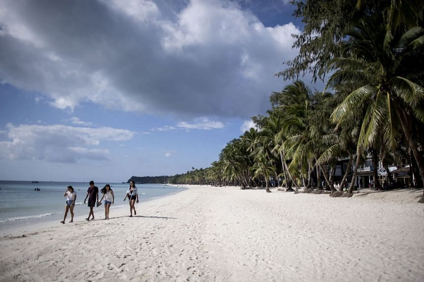 Boracay in the Philippines is all cleaned up and ready for tourists. PHOTO: AGENCE FRANCE-PRESSE