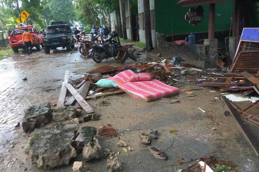 The waves were most damaging in Pandeglang regency in Banten, where 33 people died and 491 people were injured, AFP reported.