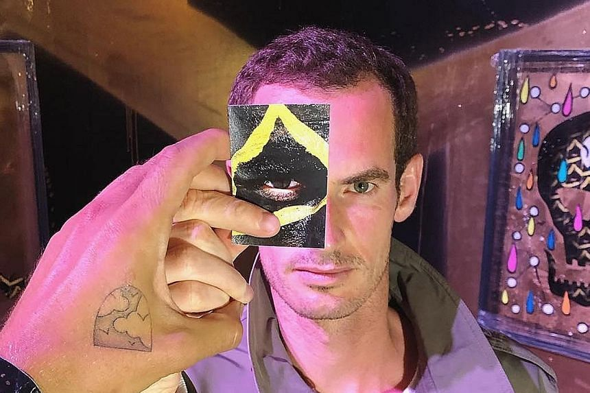 Murray's recent posts on Instagram have included pictures of modern art, which he is understood to have developed a taste for during his absence from active competition.