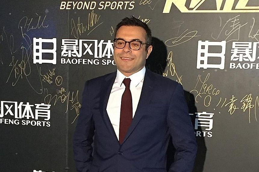 Eleven's boss Andrea Radrizzani says it can't rely on streaming alone in Britain.