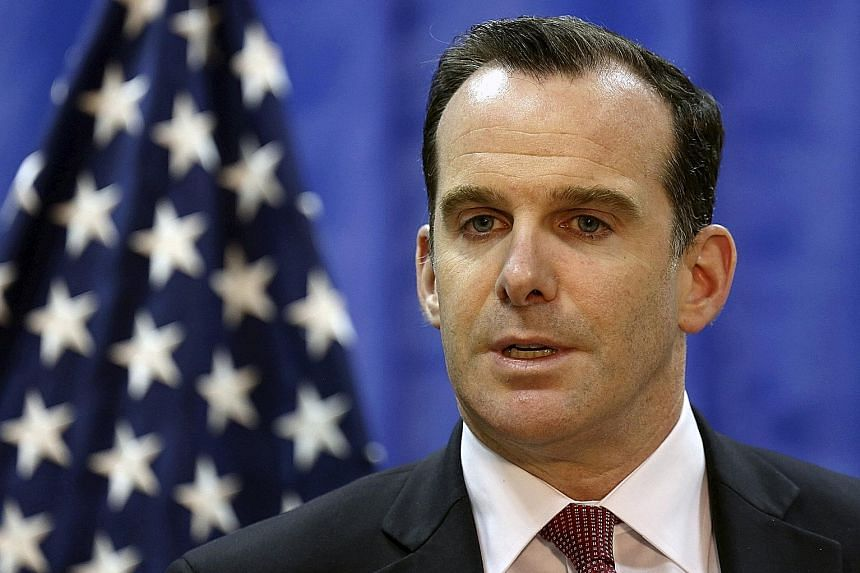 Mr Brett McGurk decided to leave early after President Donald Trump abruptly ordered the withdrawal of US troops in Syria.