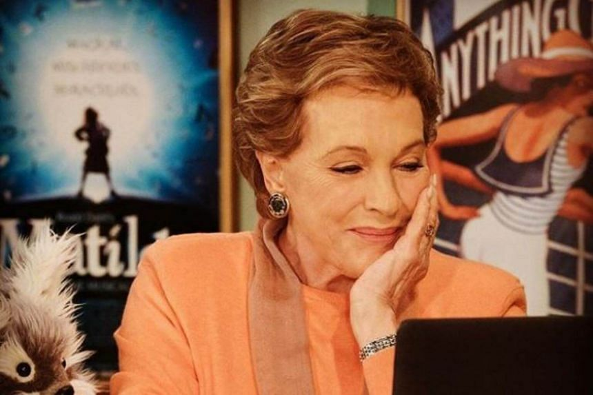 Julie Andrews plays a sassy, massive tentacled CGI monster, the Karathen, who guards a trident that Aquaman/Arthur Curry (Jason Momoa) needs for his superheroic adventures.
