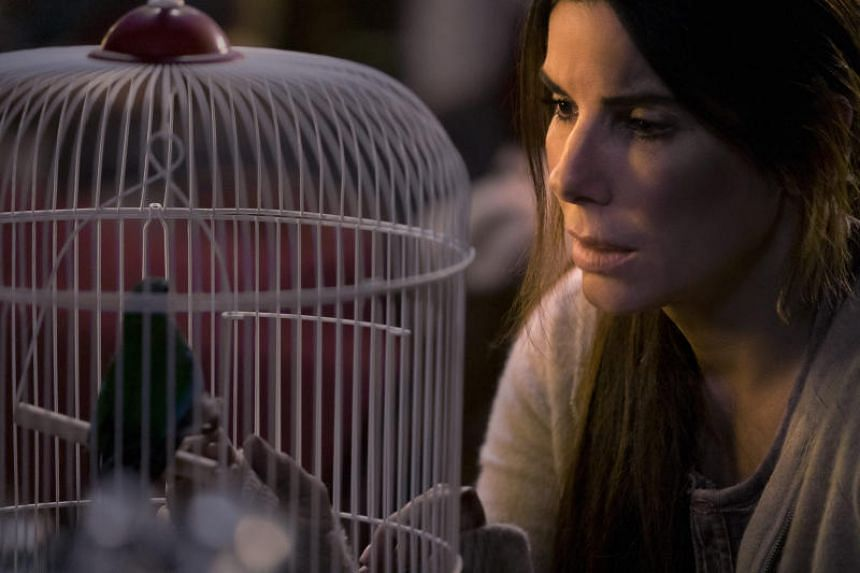 Sandra Bullock's Malorie is the protagonist in this global pandemic story, which the film makes clear by including her in every scene.