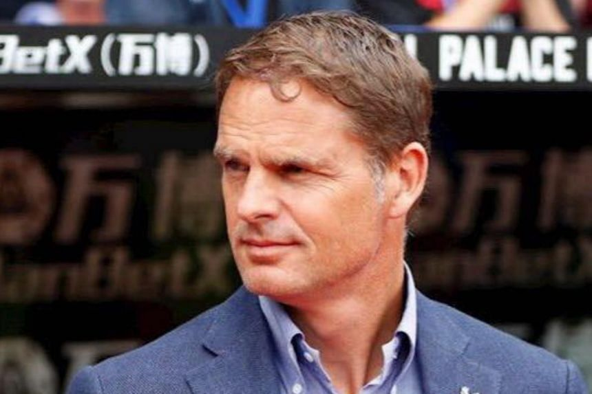 Former defender Frank de Boer takes over on Jan 1, with Atlanta set for a pre-season match on Jan 14 and a Concacaf Champions League campaign that begins in February.