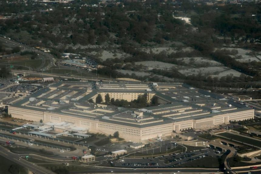 The Pentagon in Arlington, Virginia, seen in an aerial photo taken in 2015.