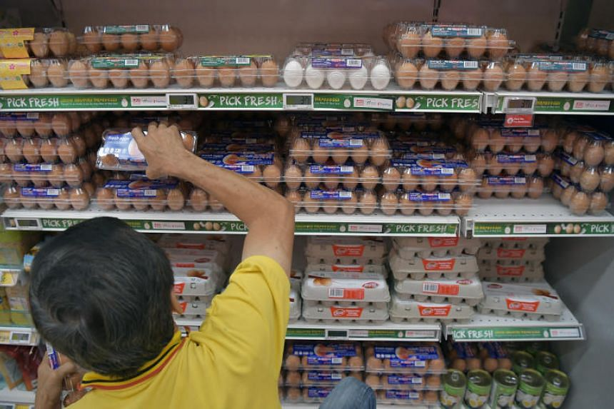 Food inflation was unchanged from October, coming in at 1.4 per cent last month.
