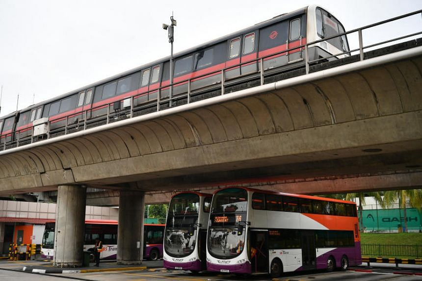 Bus and train fares will rise by six cents per trip, while single-trip train fares and adult cash bus fares will rise by 10 cents, starting from Dec 29.