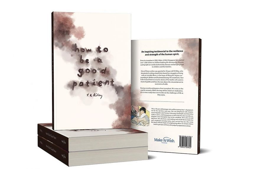 """Nicole Lim suffers from a rare mix of three diseases and hopes to raise awareness of """"invisible"""" illnesses through her book."""