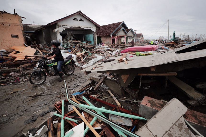 The tsunami struck at night on Dec 22 and without warning. At least 429 people have been killed.