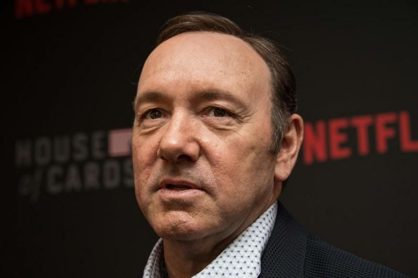 """Actor Kevin Spacey arrives at the season 4 premiere screening of the Netflix show """"House of Cards"""" in Washington, DC, on Feb 22, 2016."""
