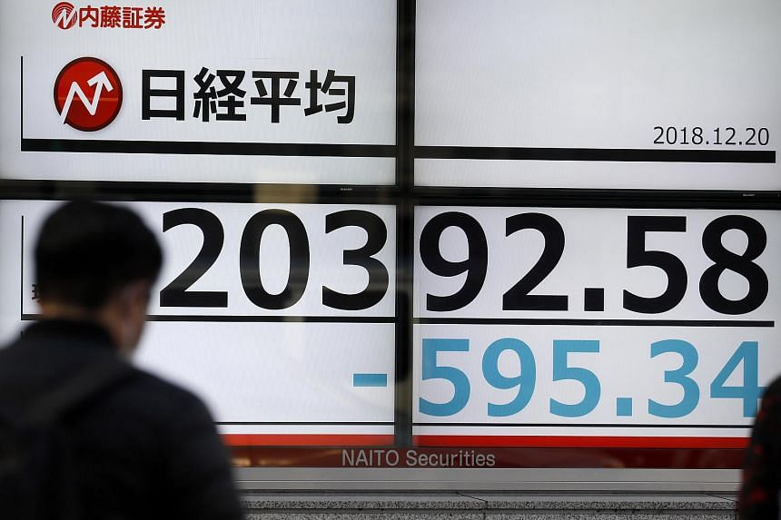 Nikkei plunges over 1000 points to hit 20-month closing low