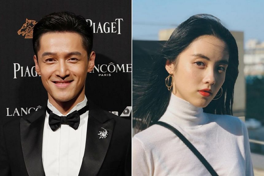 Netizens on Chinese micro-blogging site Weibo were in a frenzy after they learnt that actor Hu Ge had supposedly registered his marriage with actress Zhang Leyun in secret.