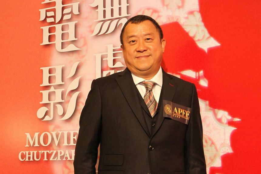 Hong Kong actor Eric Tsang was driving a private car when it collided with a vehicle carrying a top Hong Kong police officer in Hokkaido, on Dec 25, 2018.