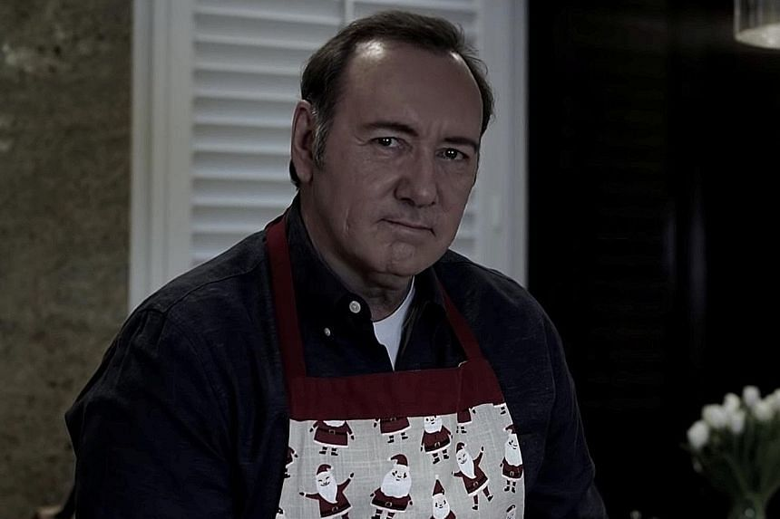 Actor Kevin Spacey released a YouTube video (above) on Monday, in which he adopts the persona of his House Of Cards character, Frank Underwood.