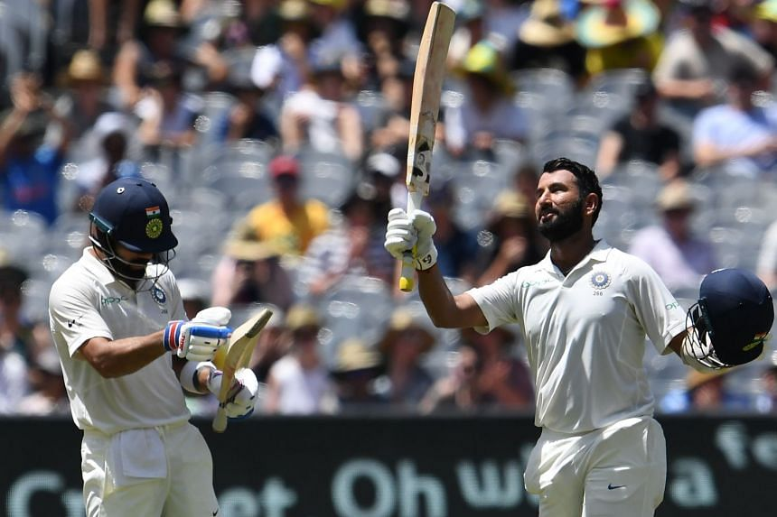India bats dominate Australia on Day 2 in scorching Melbourne