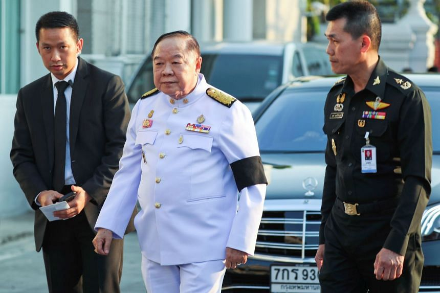 The scandal surrounding Thai Deputy Prime Minister Prawit Wongsuwan's (centre) penchant for pricey timepieces captivated the kingdom earlier this year.