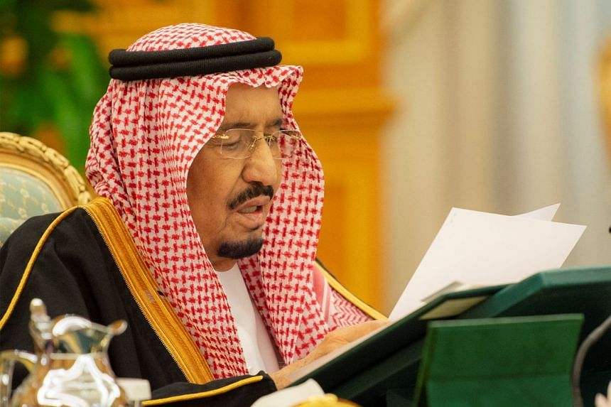 Saudi King Salman (above) has appointed Mr Ibrahim al-Assaf, a former finance minister, as the new foreign minister.