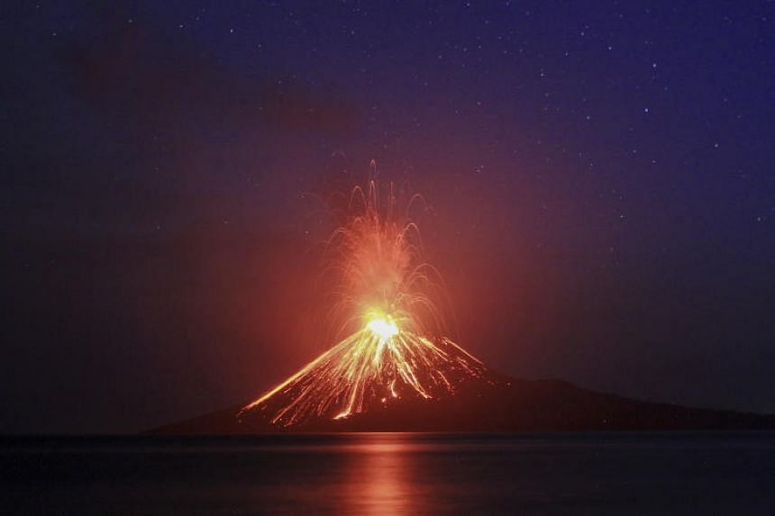 The eruption of Anak Krakatau triggered a deadly tsunami on Dec 22, 2018.