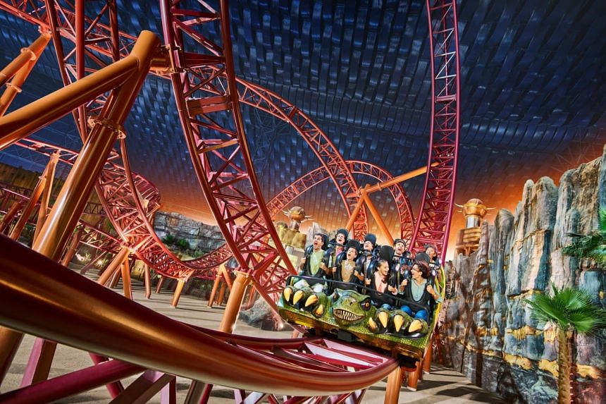 No visit to Dubai is complete without a visit to IMG Worlds of Adventure. PHOTO: TOURISM DUBAI
