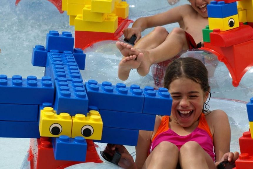 Six play areas and over 40 Lego-themed rides, shows and experiences await at LEGOLAND® Water Park. PHOTO: TOURISM DUBAI