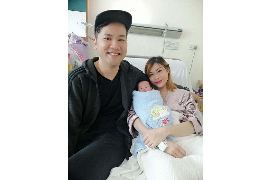 After waiting nine long months, Mr Ibrahim Mohamed Ridwan, 36, and Ms Canete Eunice Sara Clave, 27, welcomed their little bundle of joy at midnight on Christmas Day at Mount Alvernia Hospital. The couple named their second child, another boy, Mohamed