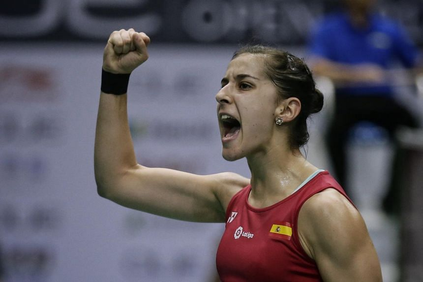 Dubbed the Rafael Nadal of badminton in Spain for her tenacity and fierce left-handed game, Spaniard Carolina Marin ended Asia's hegemony at the Olympics, beating India's P.V. Sindhu in the Rio 2016 final.