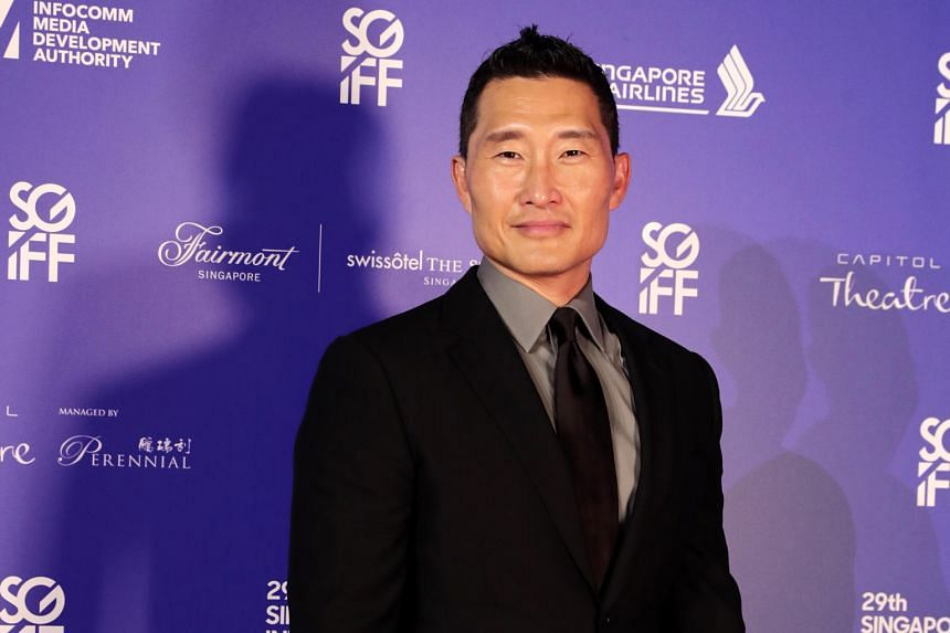 Korean-American actor Daniel Dae Kim .
