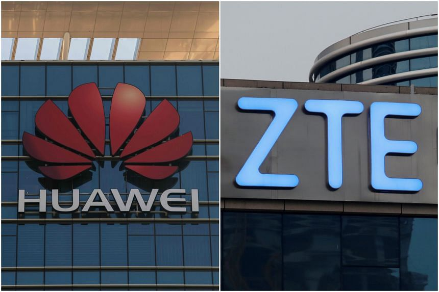 Huawei and ZTE have both denied allegations their products are used to spy.