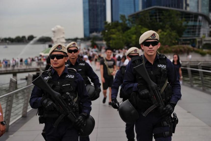 About 700 police officers will be deployed for this year's Marina Bay Singapore Countdown.