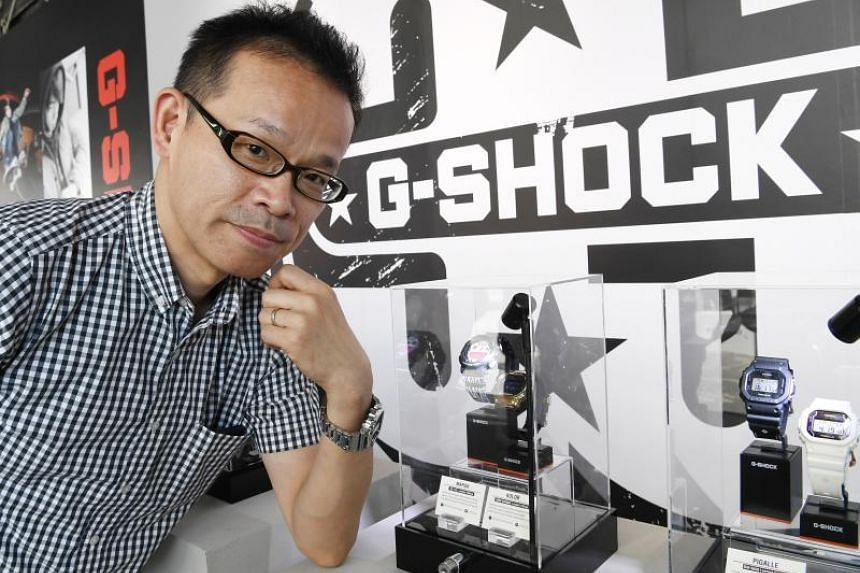 Mr Ryusuke Moriai first started working on the G-Shock watches in 1990, and to date has 14 G-Shock designs under his belt.