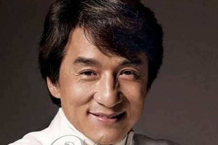 ACTION SUPERSTAR JACKIE CHAN