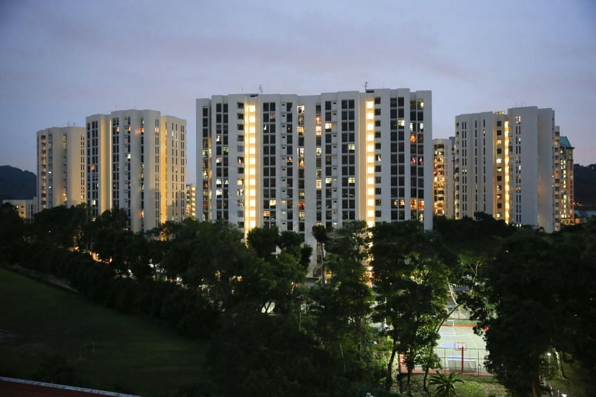 File photo showing condominium blocks along Upper Bukit Timah Road, on Oct 12, 2017.