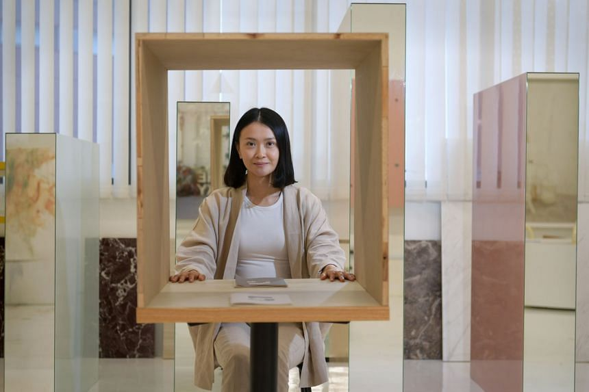 Artist Dawn Ng presenting an experiential performance piece called 11, where an audience of 22 strangers will pair up and ask one another intimate questions while moving through a series of confession booths.